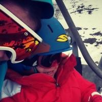 Long WE au ski avec une petite fille et un bébé - Part 1