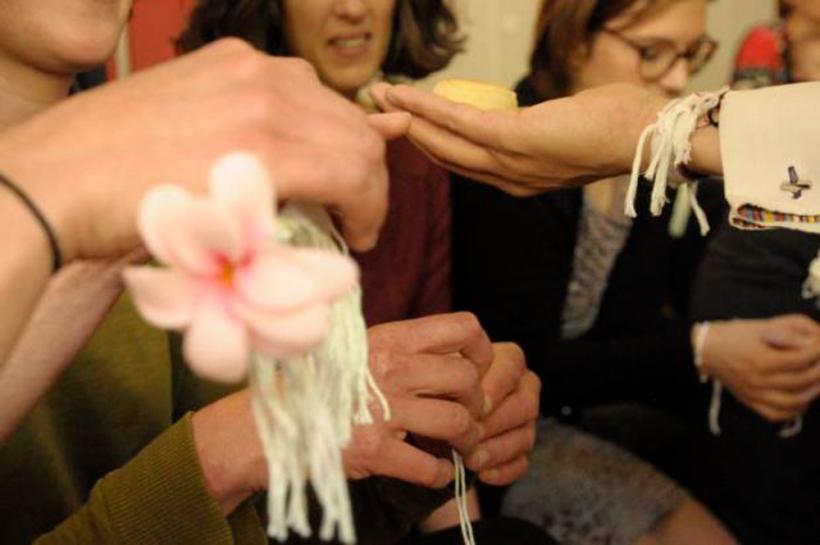 bracelets liens soukhouane laotien