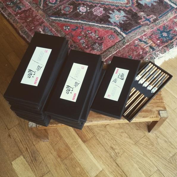 baguettes japonaises cadeaux invités baptême mariage