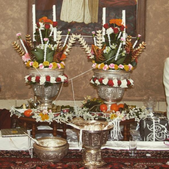 coupe fleurs offrandes laos soukhouane