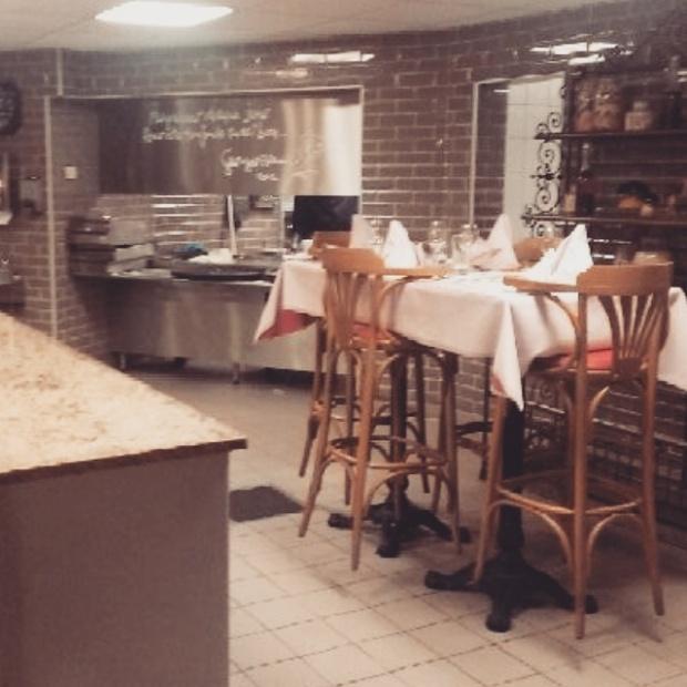la table de georges blanc à l'ancienne auberge de vonnas