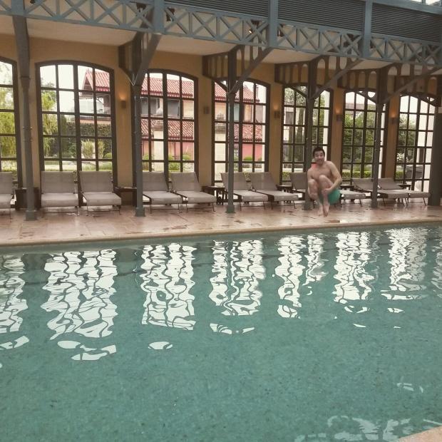 piscine du spa hotel relais et chateaux georges blanc à vonnas