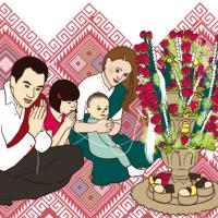 Le Laos en France : Préparatifs du Soukhouane