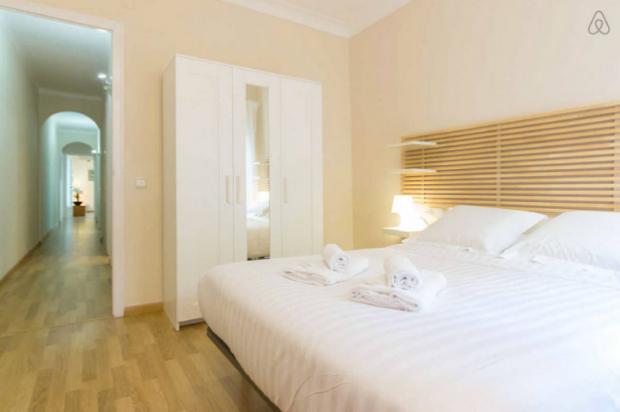 location appartement pour famille de 5 à Barcelone, Sagrada Familia - la chambre