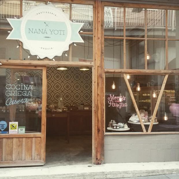 nana yoti, une pâtisserie créative à Gracia, barcelone