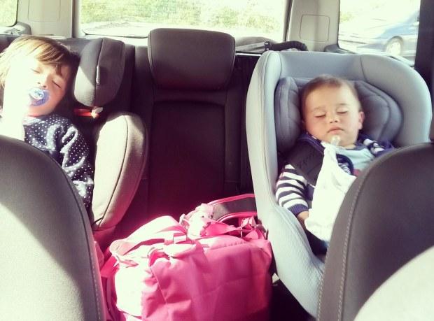 comment éviter les bouchons lorsqu'on voyage avec des enfants ?