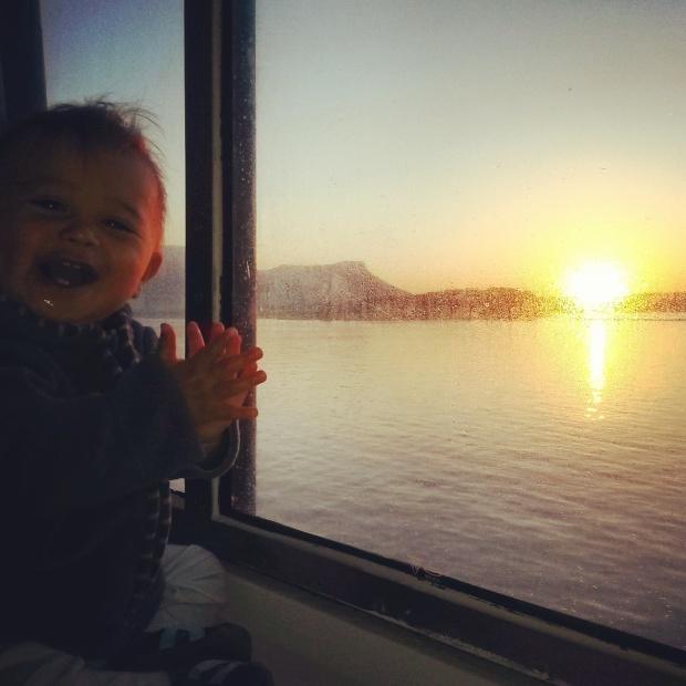 ferry Corsica ferries avec des enfants