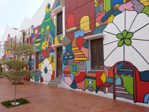 fresque murale Malacca, Malaisie