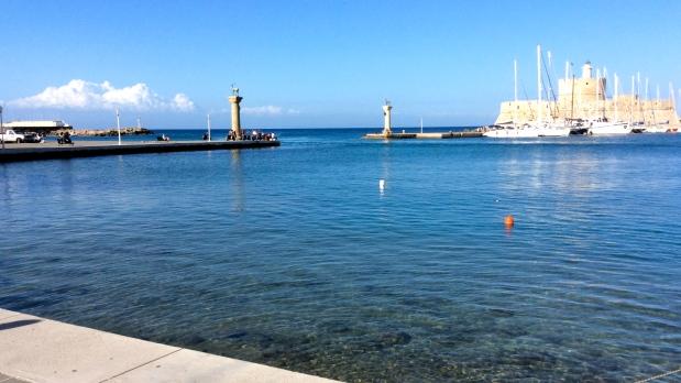 port de rhodes, grece