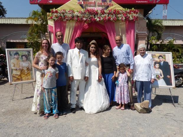 Mariage Khmer, Cambodge