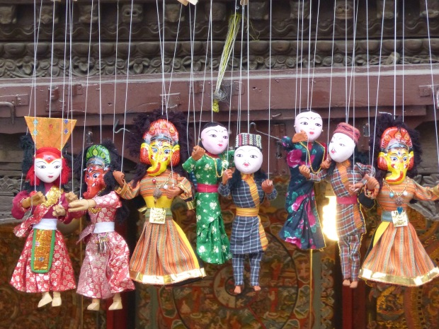 marionnettes Népal