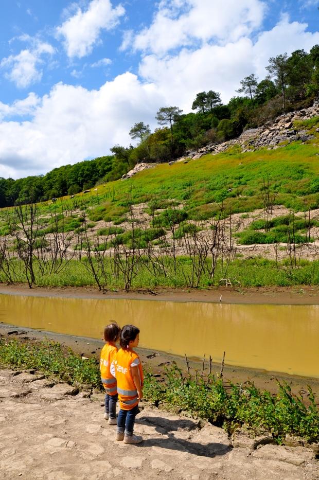 assec lac de guerledan avec enfants