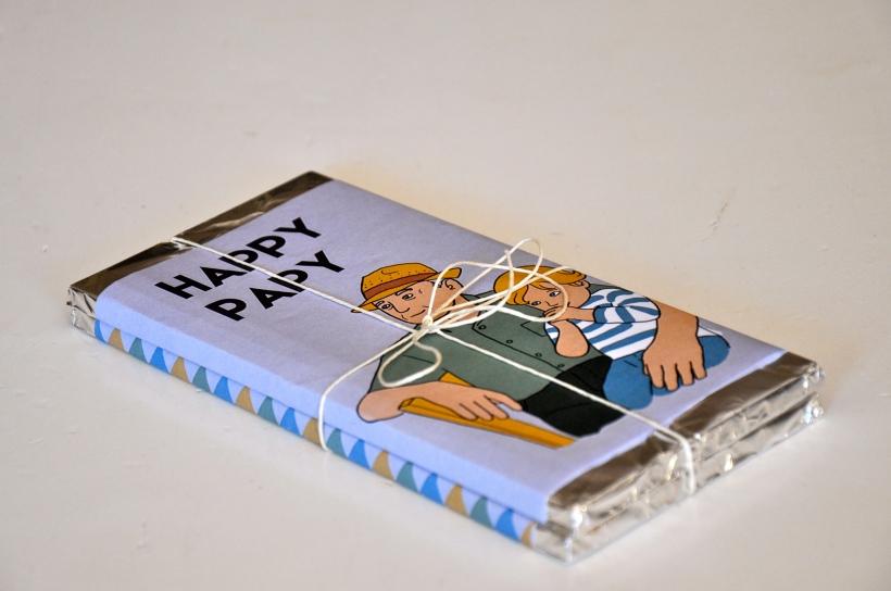 printable tablettes chocolat fête des grands-pères avec lien