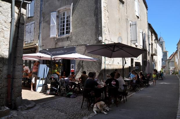 la terrasse le petit moulin restaurant martel