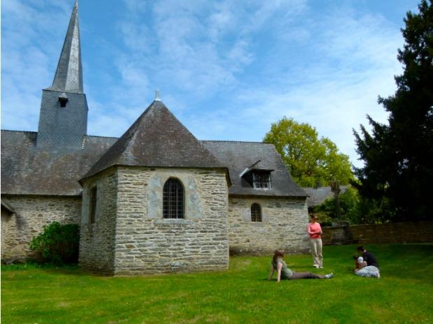 pause gouter chapelle canale nantes a brest