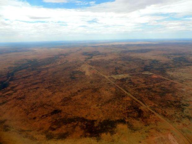Australie vue du ciel