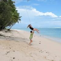 Un tour du monde en famille par l'Inde, les îles Cook et le Guatemala...