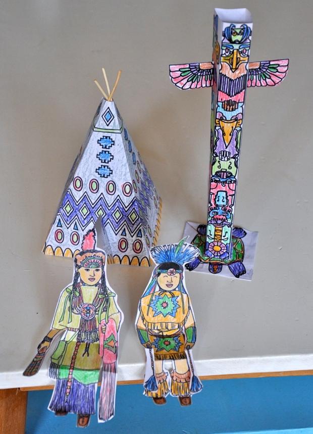 village indien printable DIY