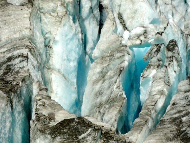 Glacier, Mont Cook, Nouvelle Zélande