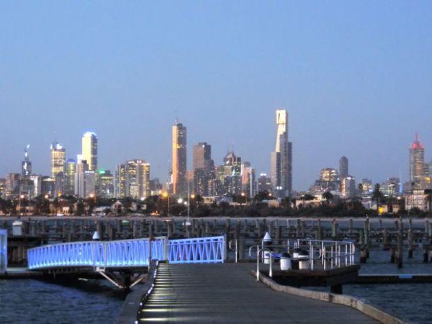 gratte ciel, Melbourne, Australie