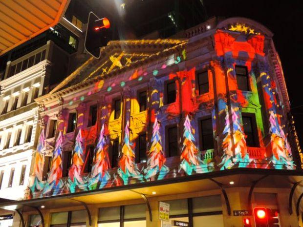 Illuminations de Noël, Sidney, Australie