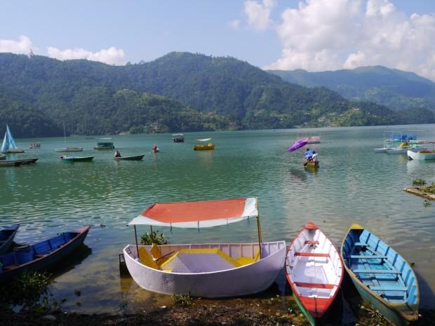nepal rivière