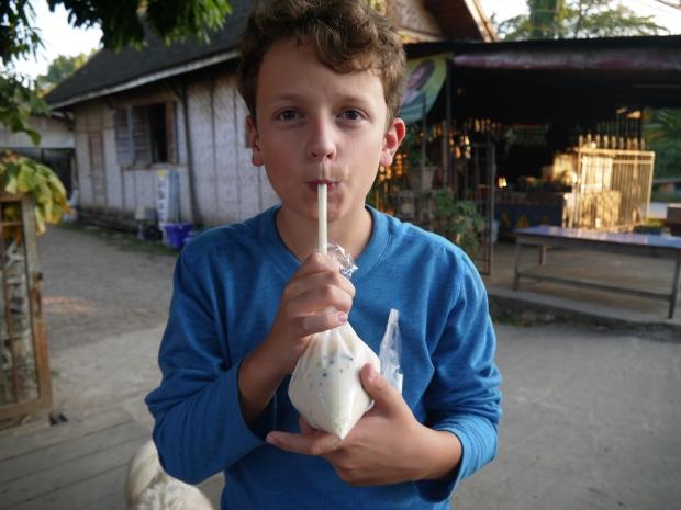 Boisson non identifiée en Thaïlande