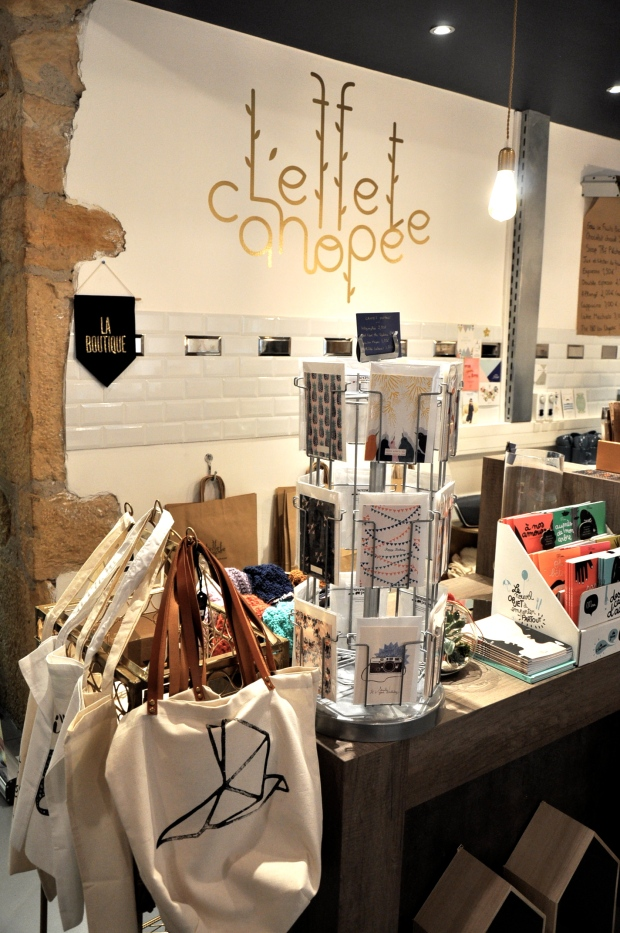jolie boutique de l'effet canopée (Lyon)