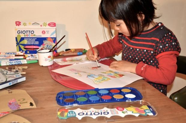 DIY calendrier de l'avent pour les enfants animaux de la foret scandinave