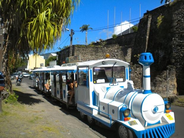 petit train touristique saint pierre martinique