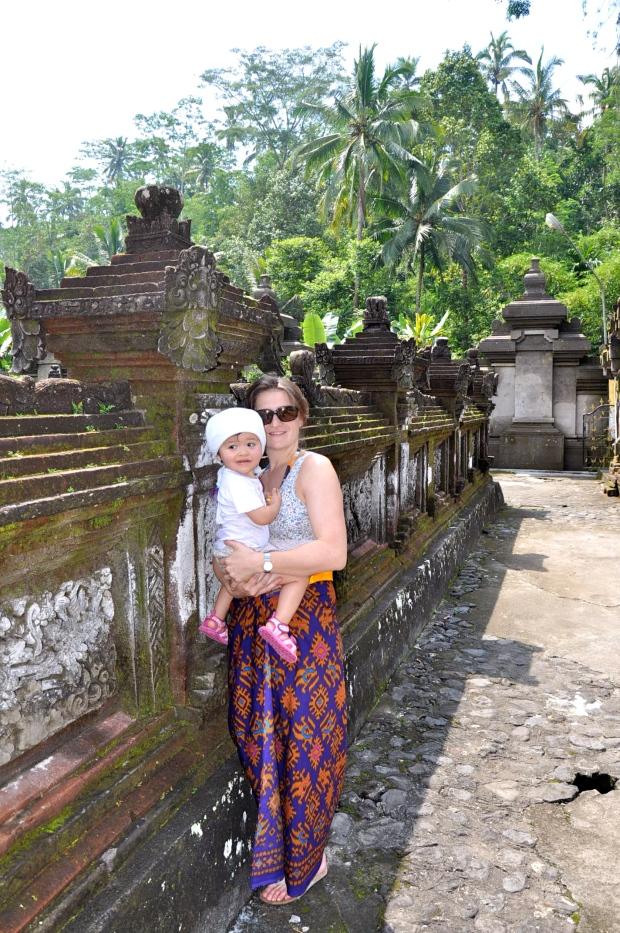 temple bali bébé maman