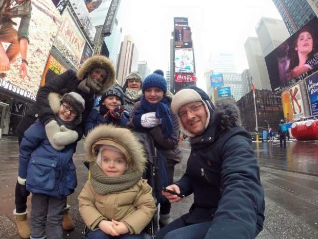 voyage à new york en famille en février
