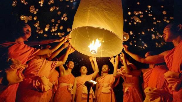 fete des lumières myanmar