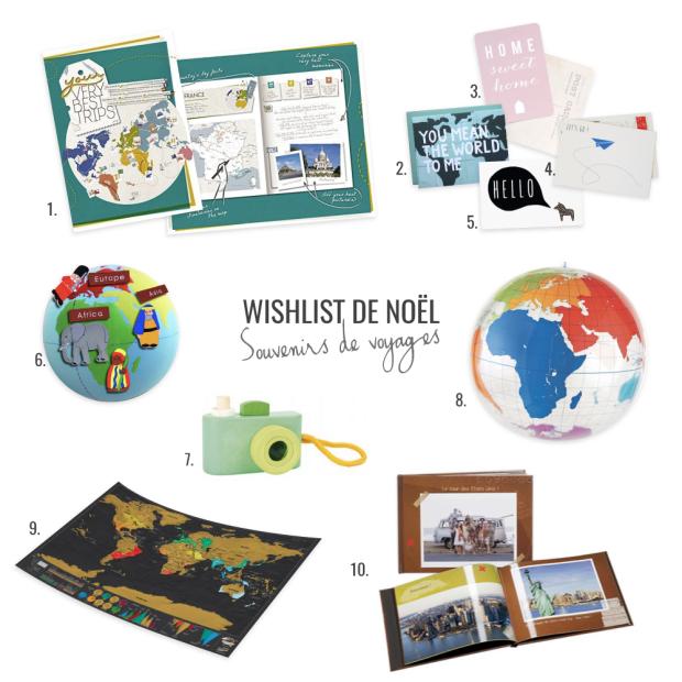 wishlist noel 2015 voyage globe trotter enfant garder des souvenirs de ses voyages
