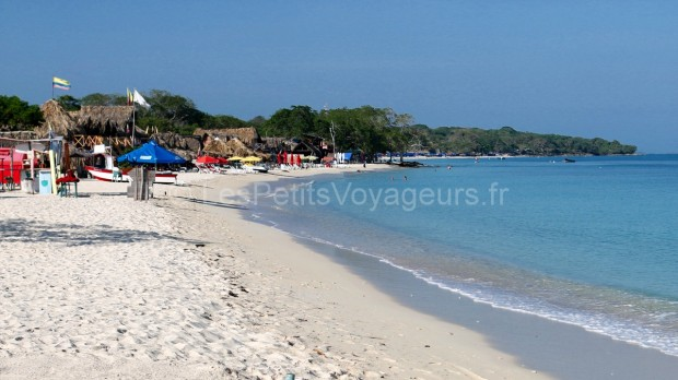plage colombie