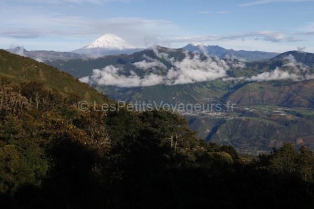 Vue sur le volcan Chimborazo, Equateur