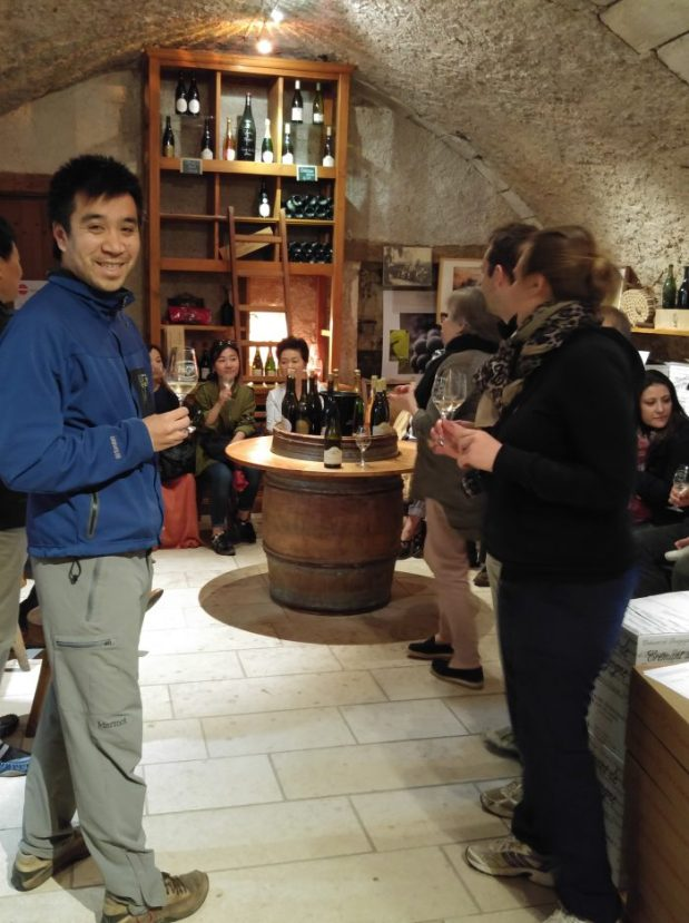degustation vin domaine borgnat