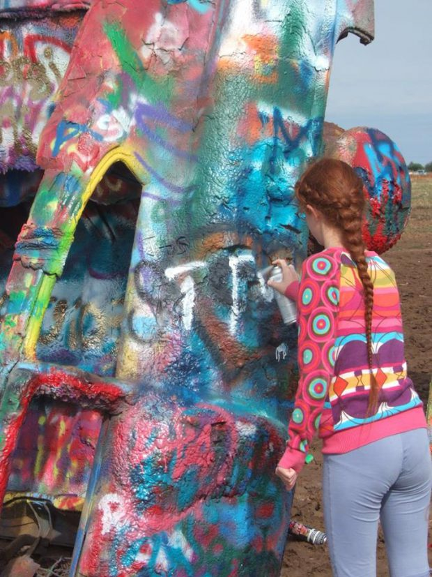 Amarillo - Cadillac Ranch