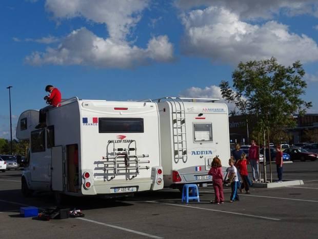 camping car en famille Etats Unis Bakersfield