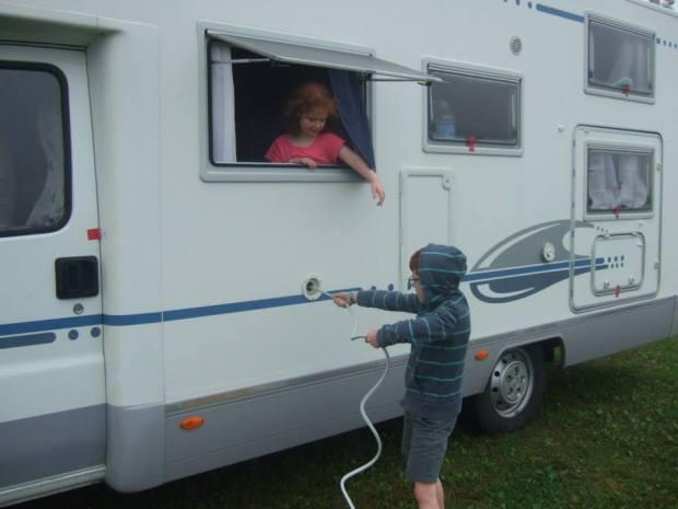 refill camping car avec enfants