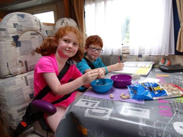 tour du monde en camping car avec des enfants