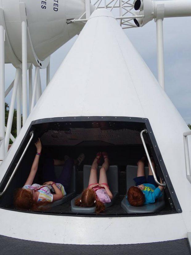 Cap Canaveral avec des enfants