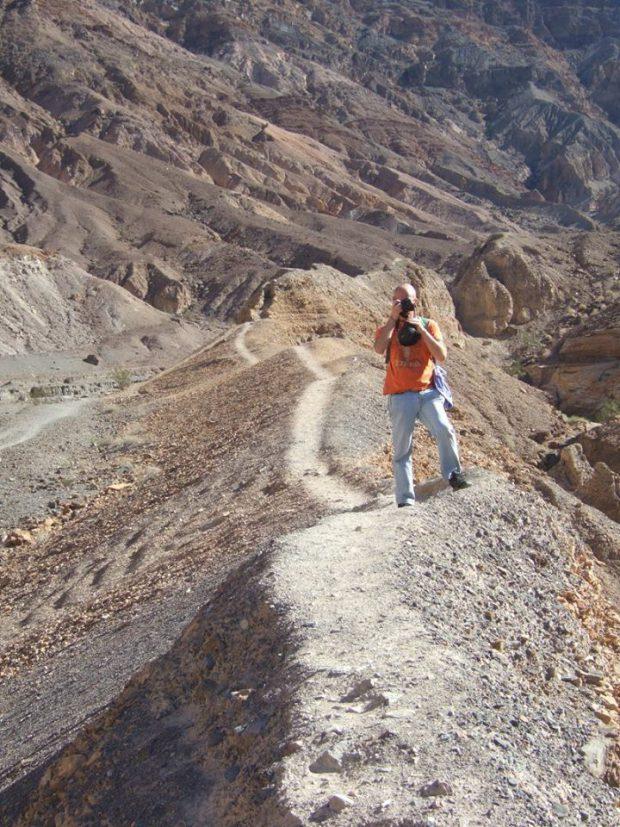 Death Valley - Mosaic Canyon avec des enfants