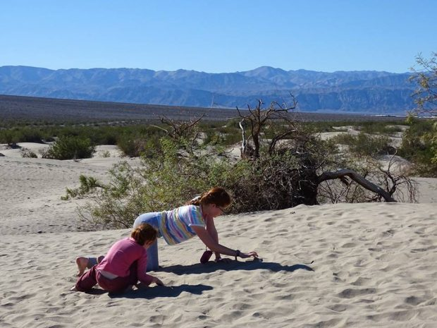 Death Valley - Sand Dunes, furnace creek en famille
