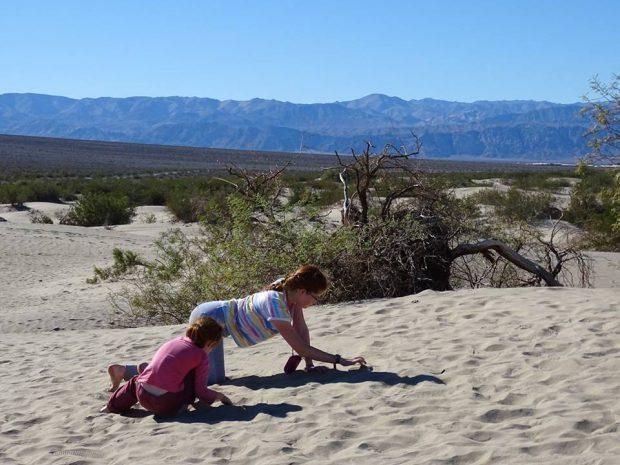 Death Valley - Sand Dunes, furnace creek en famille