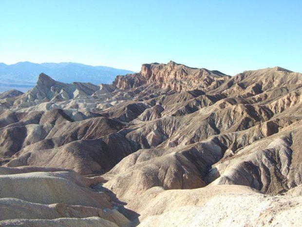 Death Valley - Zabriskie Point en famille