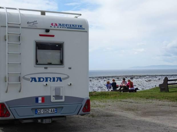 Grandes-Bergeronnes, Québec en camping car