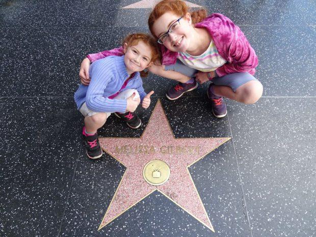 Hollywood avec des enfants