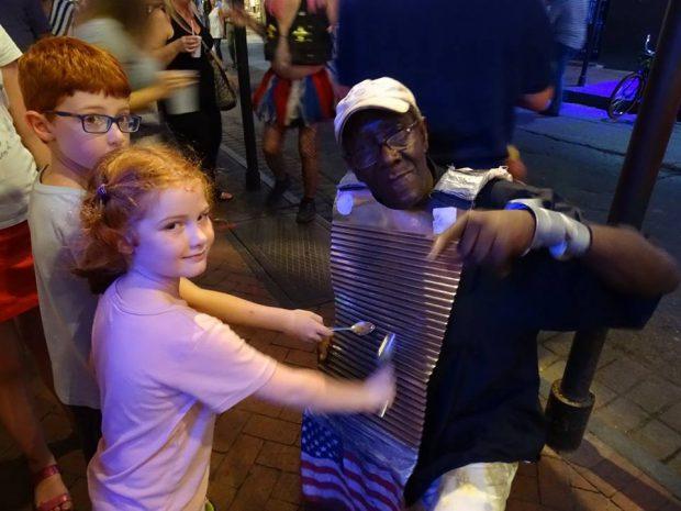 La Nouvelle-Orléans avec des enfants