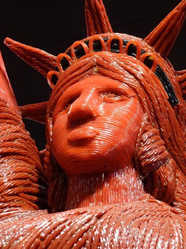 Las Vegas statue de la liberté